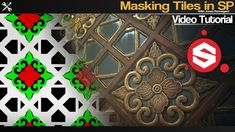 SubstancePainter - How to Mask Tiles Tiles, Tutorials, Make It Yourself, Create, Masks, India, 3d, Store, Youtube