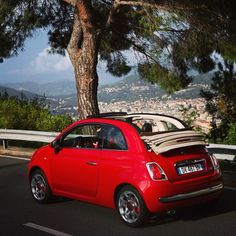 It's time to let spring in with the Fiat #500C