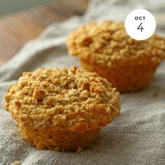 Best Oatmeal Muffins  INGREDIENTS: Muffins: • 1 1⁄2 Cups all-purpose flour • 1 Cup Quaker® Oats (quick or old fashioned, uncooked) Buy Now • 1⁄3 Cup firmly packed brown sugar • 1 Tablespoon baking powder • 1 Cup skim milk • 1⁄4 Cup canola oil • 1...