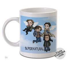 Supernatural Funny Art, Coffee mug coffee, Mug tea, Design for mug, Ceramic, Awesome, Good, Amazing