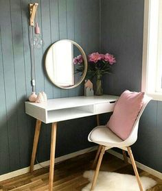 Home Decoration; Home Decoration; Home Design; Dressing Table Design, Interior, Bedroom Storage Ideas For Clothes, Bedroom Storage For Small Rooms, Home Decor, Room Inspiration, Room Decor, Bedroom Decor, Interior Design