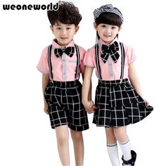 Kids Uniform Clothes - Although buying trendy kids' clothing can be a fun action that is very do with kids or your partner, School Uniform Fashion, School Uniform Girls, Girls School, Toddler Fashion, Kids Fashion, Baby Boy Outfits, Kids Outfits, Stylish Little Girls, Trendy Kids