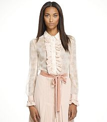 Tory Burch lillian blouse - want the whole outfit!