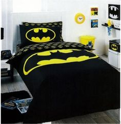 Batman themed bedroom for boy