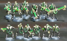 Cyberpunk Necrons - Page 5 - Painting / Conversions / Artwork - Warhammer 40k Forums