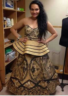 Maori Designs, Polynesian Designs, Tribal Designs, Island Wear, Island Outfit, Tongan Wedding, Tapas, Gala Dresses, African Women