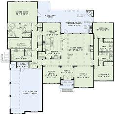 Loving this floor plan!