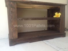 IMG 0937 600x450 TV Stand Side Table Bench in pallet furniture  with TV Stand Pallets Furniture