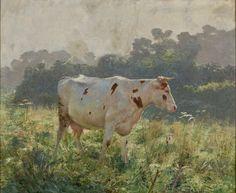 Emile Claus (1849–1924): 'Cow'
