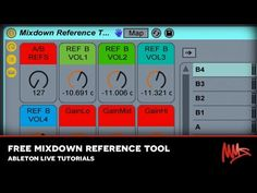 MMS Ableton Live Tutorial : Link to a FREE Mixdown Reference Rack!