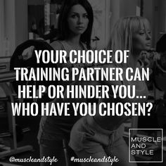 Tag your training partner (if they are good lol) and thank them for their help in making your gainzzzz
