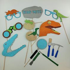 Dinosaur Photo Booth Props Dino Excavation Tools picwrap http://www.amazon.com/dp/B0137E1T2S/ref=cm_sw_r_pi_dp_oPbLwb1TQG58M