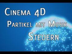 Cinema 4D Tutorial : Partikel mit Musik / Sounds steuern mit Xpresso &…