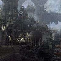 Ok let's drop a bomb, this is another panorama concept art for JUPITER ASCENDING. is quite challenge.