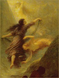 The Three Rhine Maidens - Henri Fantin-Latour