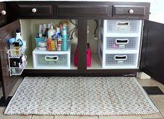 Hi Sugarplum | Organized Bathroom Cabinets | Flickr - Photo Sharing!