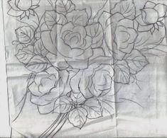 Tatitando Arte: Riscos para Pintura em tecido flôres