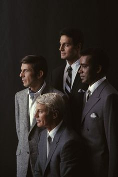 """Mission: Impossible"" the original TV series: Leonard Nimoy, Peter Graves, Peter Lupus, Greg Morris"