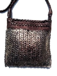 Tricot Woven Leather Square Evening Pouch – IMPERIO jp