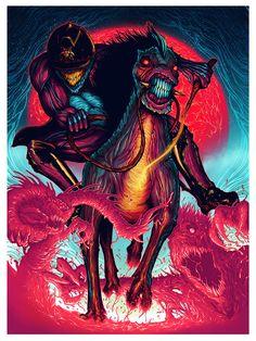 Hyper Horse Illustration on Behance