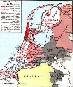 nederland 14e eeuw