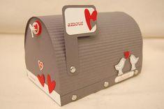 Tutoriel MAIL BOX SAINT VALENTIN (Loisirs créatifs) - Femme2decoTV