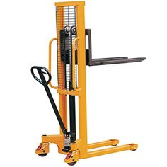 Adhering to all European safety standards, this pallet puller can raise pallets to heights of either 1500mm 2500mm. Designed to be simple to manoeuvre it's heavy-duty build makes it a discerning choice for any warehouse. https://www.esedirect.co.uk/p-4727-heavy-duty-manual-pallet-stackers-1500mm-and-2500mm-lift-height.aspx