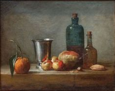 The Existential Experience of a Chardin Still Life   Painters' Table
