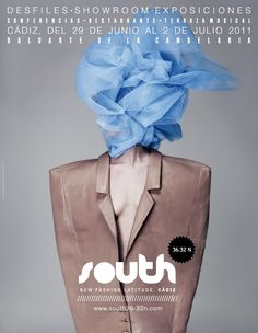 SOUTH jacket by georgielajose Cadiz, New Fashion, Projects, Editorial, Events, Jacket, Pattern Cutting, Exhibitions, Poster
