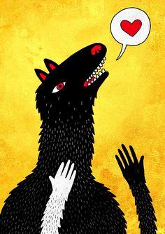 Wolf by Miaou-Miaou-Miaou
