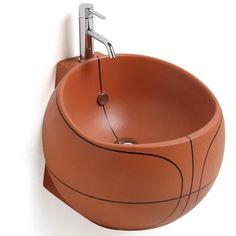 Basketball Washbasin | Boys Room | Home Decor