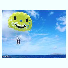 パラセーリング 最あんど高に気持ちよかった #hawaii #南国最高ちゃん #最高の休日 #まいちゃん無念 by shi_cn