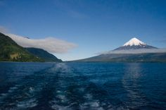 Peulla Chile | Crossing the lake to Peulla Hotel - Peulla, Chile