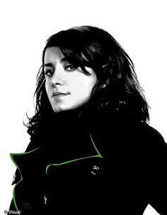 Marjane Satrapi, auteur, réalisatrice, membre du jury du festival de Cannes 2008 #TEDxceWomen