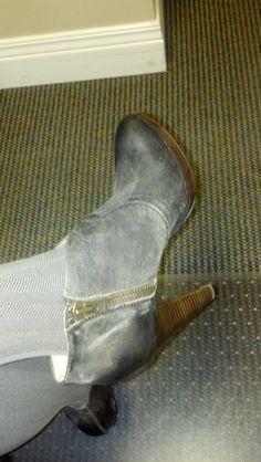 My new Valentine's kicks as worn by me today.
