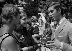 1970: Charles' first visit to Canada. The young Prince of Wales, 22, spends a few days in Ottawa by himself and then joins the Queen, Prince Philip, and Princess Anne for the centennial celebrations of Manitoba and the Northwest Territories' inclusion into Confederation.  Read more: http://www.ctvnews.ca/canada/the-british-are-coming-recounting-prince-charles-visits-to-canada-1.1826387#ixzz3Le8zTzhK