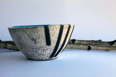 Ceramic raku bowl / ceramics and pottery / by RakuPotteryCreations, $60.00