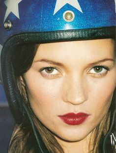 Kate Moss by Terry Richardson for Harpers Bazaar 1997