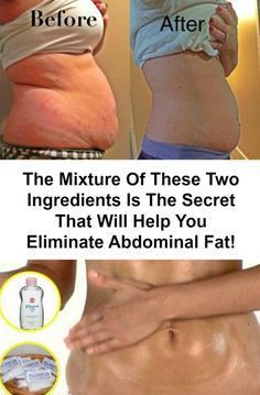 The Mixture Of These Two Ingredients Is The Secret That Will Help You Eliminate Abdominal Fat