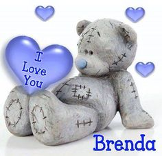 Tatty Teddy, Sew in Love I love you, three little words that mean so much. Tatty Teddy helps you say it in an unforgettable way, for an. Tatty Teddy, Fimo Clay, Polymer Clay Projects, Clay Bear, Teddy Bear Cakes, Teddy Bears, Cute Love Pictures, Blue Nose Friends, Polymer Clay Christmas