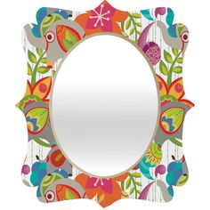 Valentina Ramos Little Elephants Quatrefoil Mirror | DENY Designs Home Accessories