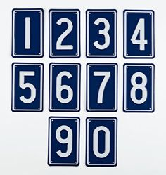 Search Results for painted-steel-house-numbers-white-on-green Steel House, Cabin Design, House Numbers, Home Accessories, Home Goods, Home Improvement, New Homes, Blue And White, Green
