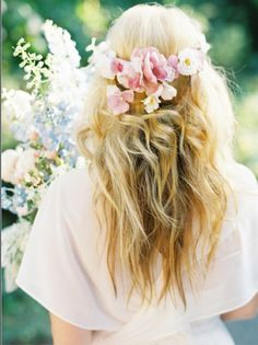 Boho wedding hair #love |Pinned from PinTo for iPad|