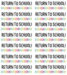Free sticker labels for teachers to label students' homework folders- Return to School and Keep at Home labels will keep paperwork organized! Classroom Labels, 4th Grade Classroom, Classroom Organisation, Teacher Organization, Classroom Activities, Classroom Management, Classroom Ideas, Organized Teacher, Future Classroom