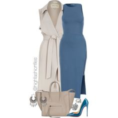 A fashion look from August 2015 by highfashionfiles featuring River Island, Christian Louboutin, ASOS and Charlotte Russe