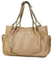 VIVILLI Boutique Vintage Shine Soft Leather Charming Shopper Office Tote Purse Satchel Handbag  From VIVILLI