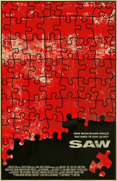 Saw is a horror franchise that consists of 8 feature films and additional media. In Australian director James Wan . Poster by Mark Welser. Horror Movie Posters, Cinema Posters, Movie Poster Art, Horror Films, Art Posters, Mad Movies, Scary Movies, Iconic Movies, American Horror Movie
