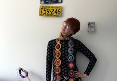 MMMay day three, crochet scarf Crochet Clothes, Day, Vintage, Vintage Comics
