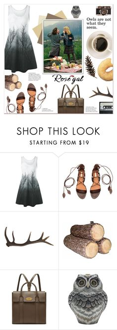"""Rosegal contest"" by here-comes-caroline ❤ liked on Polyvore featuring Antler, Vernissage, Mulberry and Judith Leiber"