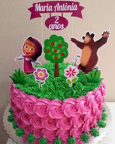 Bolos Home Decor cheap home decor Bear Birthday, Birthday Cake, Masha Cake, Marsha And The Bear, Pony Cake, Bear Party, Paper Cake, Bear Cakes, Girl Cakes